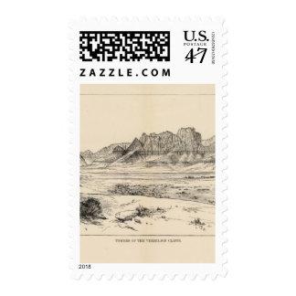 Towers, Vermilion Cliffs Postage