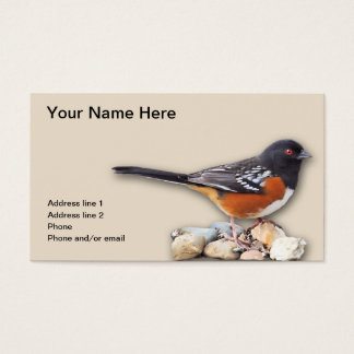 TOWHEE #1 BUSINESS CARD