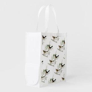 Towhee Rufo-echado a un lado por Audubon Bolsas Para La Compra