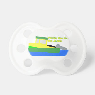 Towin' the Line for Jesus (Tugboat) Pacifier