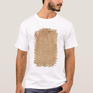 Towing a boat, from the Mastaba of Mereruka T-Shirt