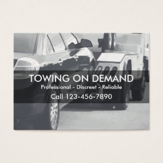 Towing And Wrecker Business Card