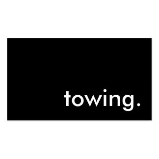 towing business card templates