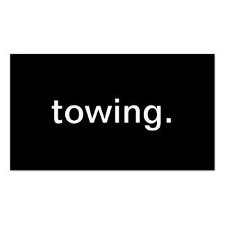 Towing Business Card Template