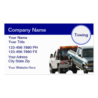 Towing Business Cards