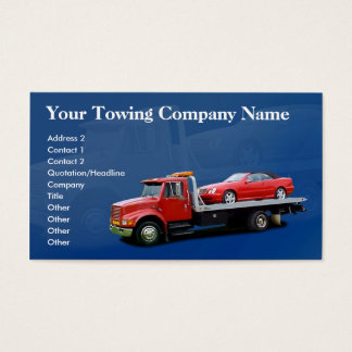 Towing Company Business Card