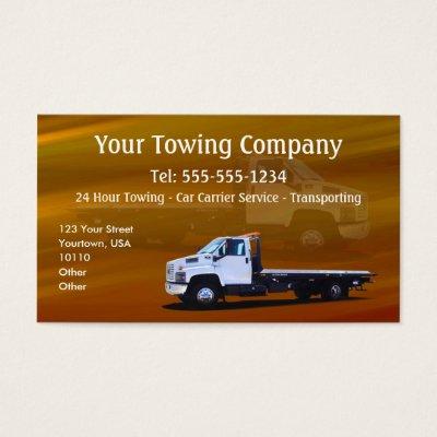 Auto transport business cards zazzle colourmoves