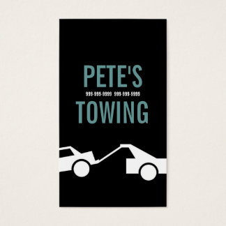 Towing Tow Truck Car Service Business Card