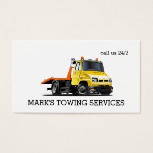 Towing business cards templates zazzle towing truck business card colourmoves Gallery