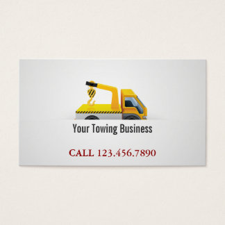 Towing Truck Professional Business Card