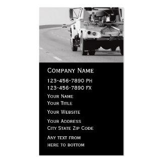 Towing Wrecker Business Card