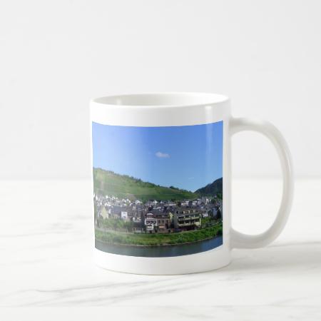 Town along the River Mug