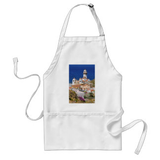 Town and basilica of Candelaria at Tenerife Adult Apron
