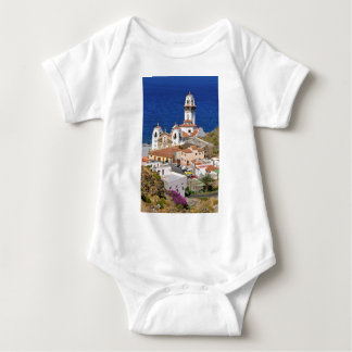 Town and basilica of Candelaria at Tenerife Baby Bodysuit