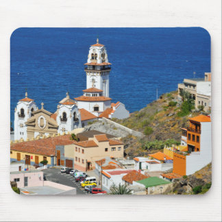 Town and basilica of Candelaria at Tenerife Mouse Pad