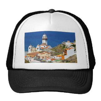 Town and basilica of Candelaria at Tenerife Trucker Hat