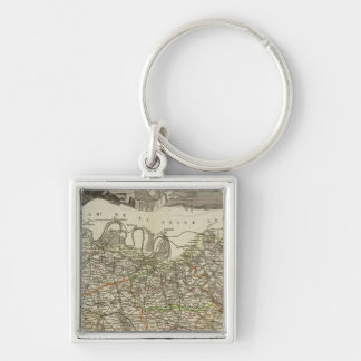 Town and Cities Keychain