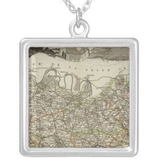 Town and Cities Silver Plated Necklace