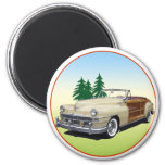Town and Country Refrigerator Magnet