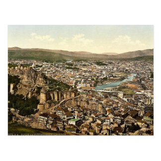 Town and fortress, Tiflis, Russia, (Tbilisi, Georg Postcard