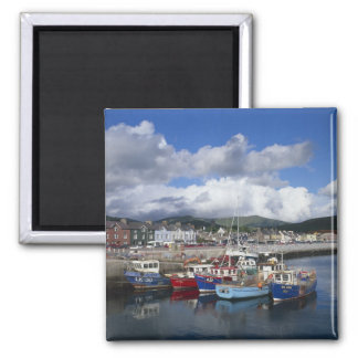 Town and Harbour, Dingle, County Kerry, 2 Inch Square Magnet