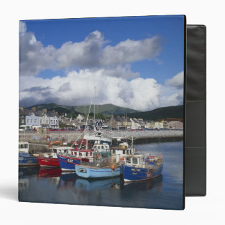 Town and Harbour, Dingle, County Kerry, 3 Ring Binder