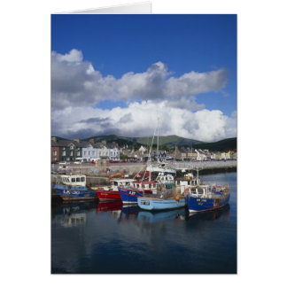 Town and Harbour, Dingle, County Kerry, Card
