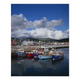 Town and Harbour, Dingle, County Kerry, Print
