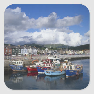 Town and Harbour, Dingle, County Kerry, Stickers