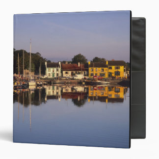Town and harbour, Kinvarra, County Galway, 3 Ring Binder
