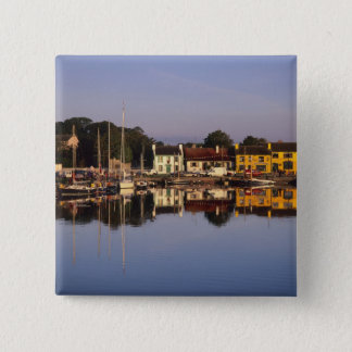 Town and harbour, Kinvarra, County Galway, Button
