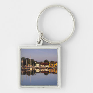Town and harbour, Kinvarra, County Galway, Keychain