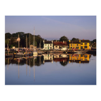 Town and harbour, Kinvarra, County Galway, Postcard