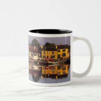 Town and harbour, Kinvarra, County Galway, Two-Tone Coffee Mug