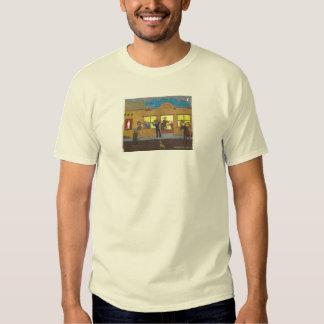 town bar scene t shirt