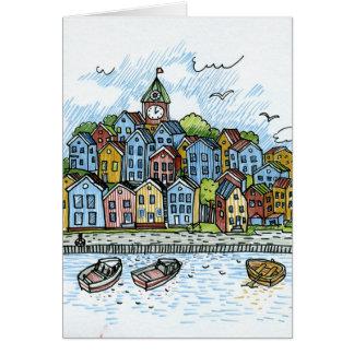 town card