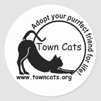 Town Cats Promo Sticker