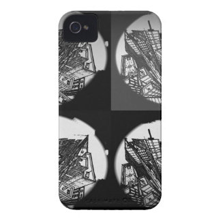 town center 3 POINT perspective black & white Case-Mate iPhone 4 Case