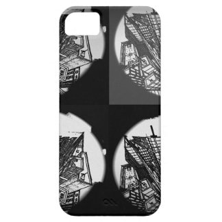 town center 3 POINT perspective black & white iPhone SE/5/5s Case