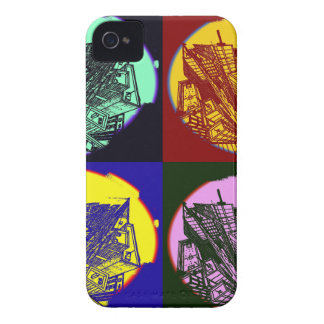 town center 3 POINT perspective pop kind styles iPhone 4 Cover