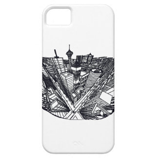 town center in 3 POINT perspective iPhone SE/5/5s Case