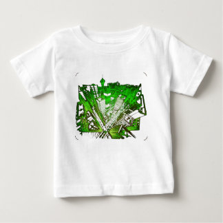 town center in 3 POINT perspective special version Baby T-Shirt