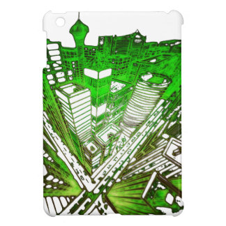 town center in 3 POINT perspective special version iPad Mini Case