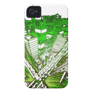 town center in 3 POINT perspective special version iPhone 4 Case-Mate Case