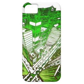 town center in 3 POINT perspective special version iPhone SE/5/5s Case