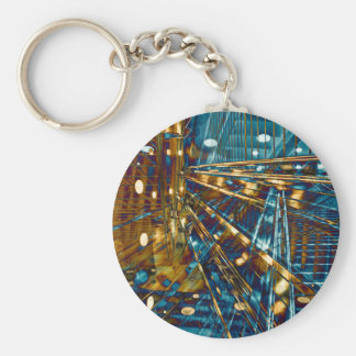 Town center LINEs Keychain