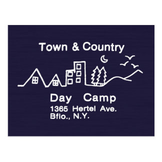 Town & Country Day Camp Postcard