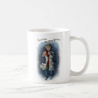 Town Crier Welcomes the New Year Coffee Mug