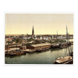 Town from the Lighthouse, Bremerhafen, Hanover (i. Post Card