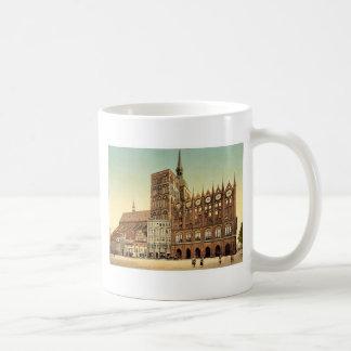Town hall and St. Nicholas Church, Stralsund, Pomm Coffee Mug